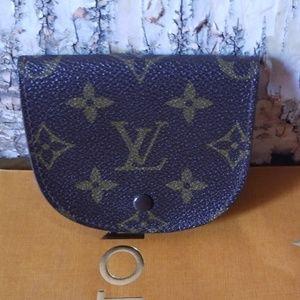 Authentic Louis Vuitton coin credit card purse